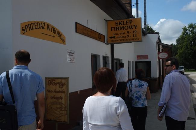 Zwiedzanie cukierni Zaniewicza